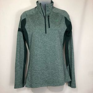 The North Face quarter zip long sleeve warm layer
